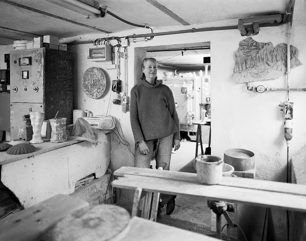 Ute Brade, Ceramic Artist by Nikolaus Brade.