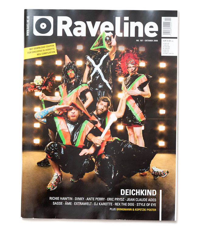 Cover Raveline, Oct 2008 by Nikolaus Brade.