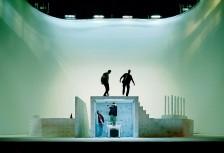 Stage Workers, Hamburg by Nikolaus Brade.