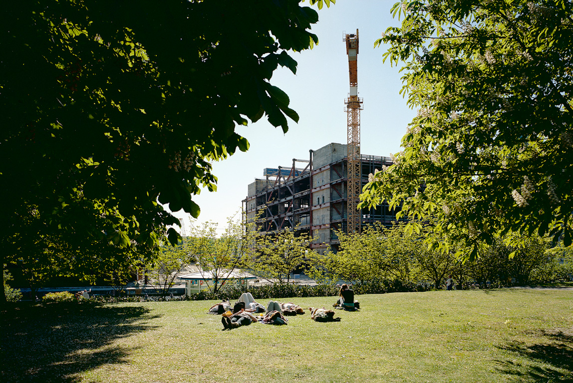 During the Demolition from 2006 to 2010 by Nikolaus Brade.