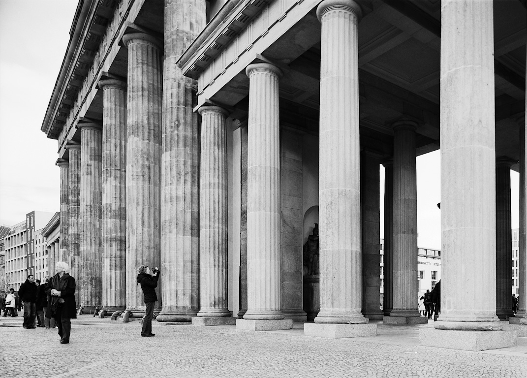 Brandenburg Gate, previously Closed to the Public by Nikolaus Brade.