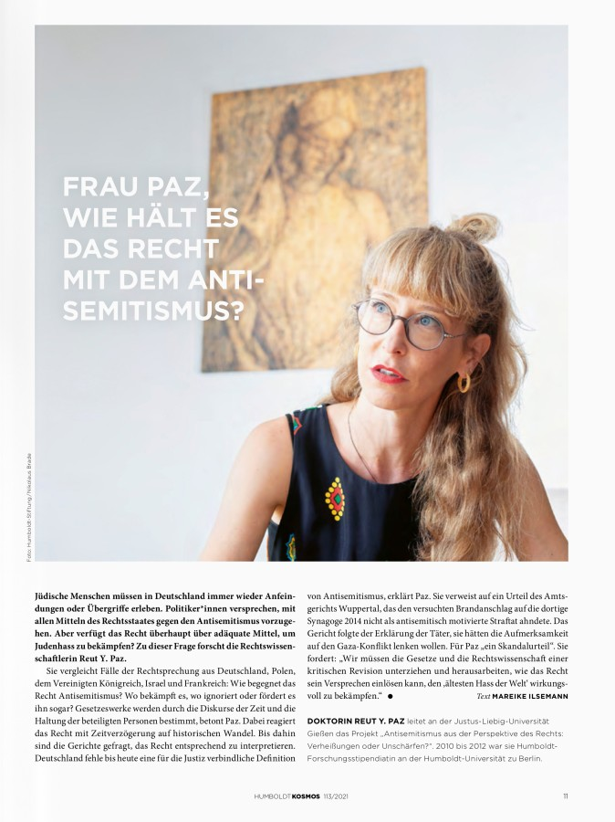 Reut Paz in Berlin by .