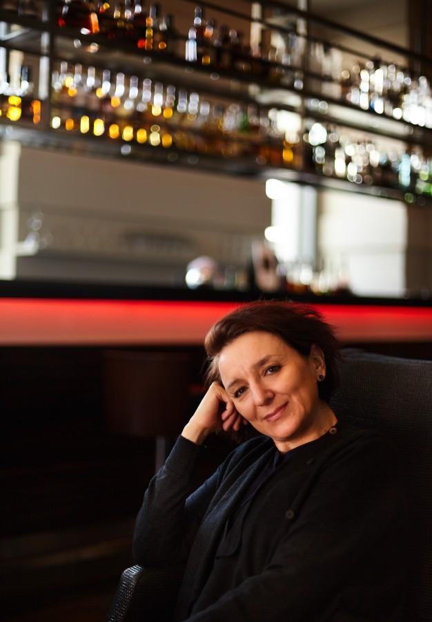 Eva Illouz at Hotel de Rome in Berlin by Nikolaus Brade.
