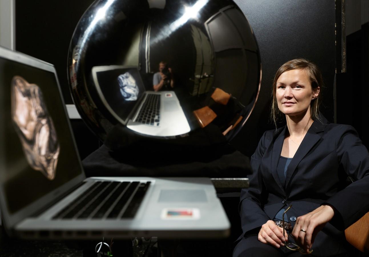 Katja Doerschner at IFZ in Gießen by Nikolaus Brade.