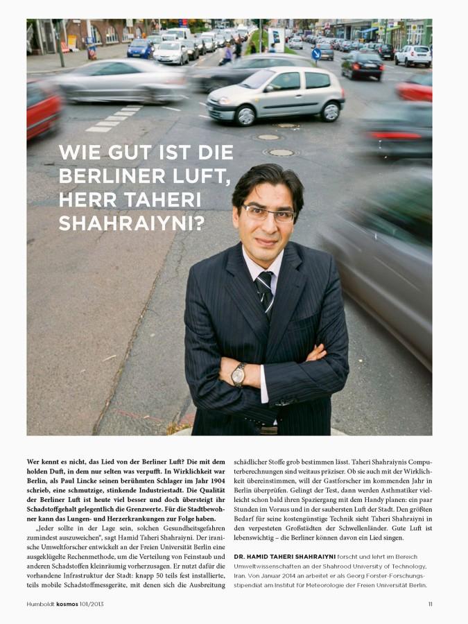 Hamid Taheri Shahraiyni in Berlin by Nikolaus Brade.