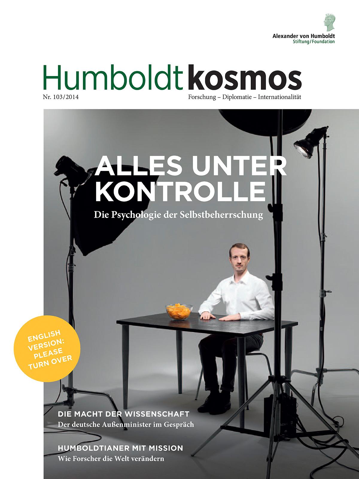 Cover 103/2014 by Nikolaus Brade.