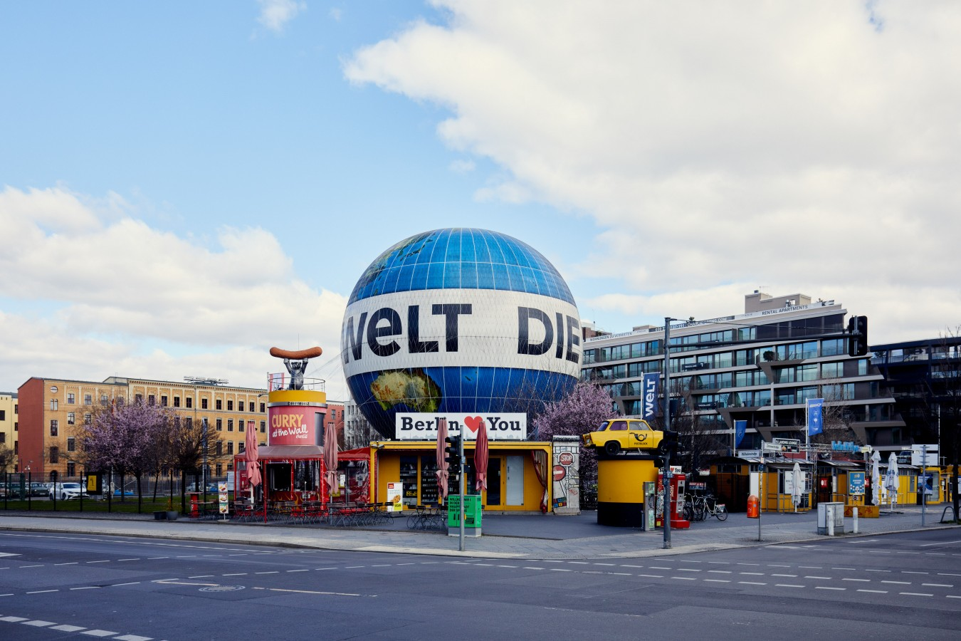 Strange Days in Berlin by NIKOLAUS BRADE.